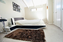 Luxury Storm Brown Bedroom&Lounge Rug 1.5m X 0.8m