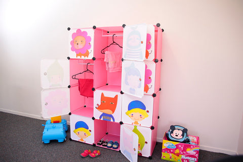Picture of Kids Wardrobe organiser storage Y10