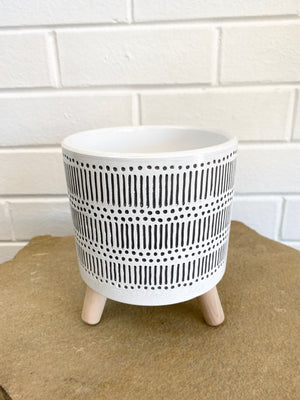 3 Legged Patterned Planter