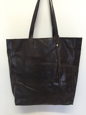 Executive Tote Dark Brown