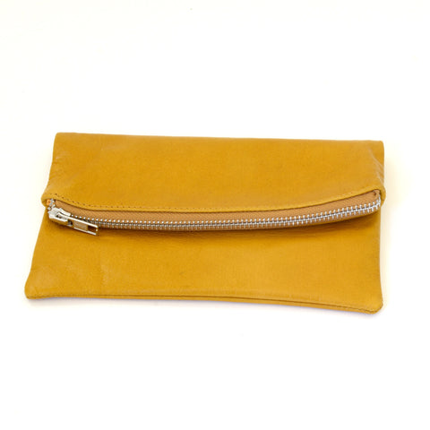 Babushka Mustard Leather Bag