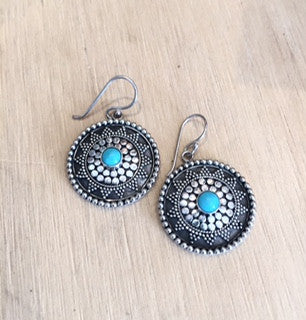Mexican Hat Earrings
