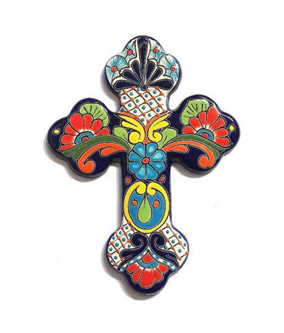 Mexican Colourful Cross