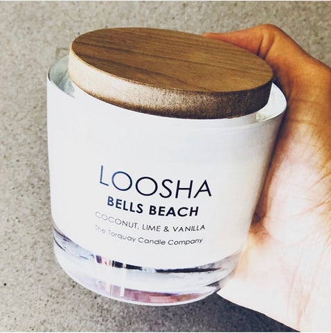 LOOSHA  SURFCOAST CANDLES