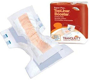 TopLiner™ Super Plus Incontinence Booster Pad TopLiner™ Super Plus 32 Inch Length Heavy Absorbency Polymer Core One Size Fits Most Adult Unisex Disposable - PK/12 (30973101)