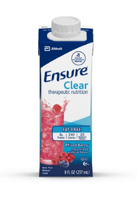 Ensure® Oral Supplement Ensure® Mixed Berry Flavor Ready to Use 8 oz. Container Carton - EA (64902601)