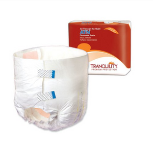 Tranquility® ATN Unisex Adult Incontinence Brief Tranquility® ATN Tab Closure Large Disposable Heavy Absorbency - BG/12 (21863101)
