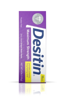 Desitin® Maximum Strength Diaper Rash Treatment Desitin® Maximum Strength 4 oz. Tube Scented Cream - PK/6 (74301400)