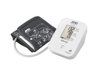 A&D Medical Upper Arm Blood Pressure Monitor with Bluetooth® Smart Technology EA - AEUA651BLE