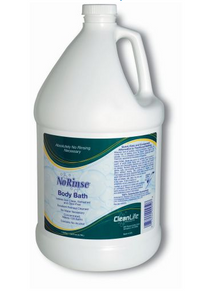 Cleanlife Products No-rinse Body Bath, Concentrated Formula, 1 gallon GL - NR00950