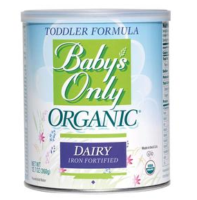 Natures One Baby's Only Organic® Dairy Toddler Formula with DHA and ARA 360g, 1680 Cal PK/6 - CO22902M