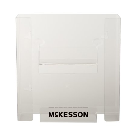 McKesson Glove Box Holder McKesson Horizontal or Vertical Mounted 2-Box Capacity Clear 4 X 10 X 10-3/4 Inch Plastic - BX (65321300)