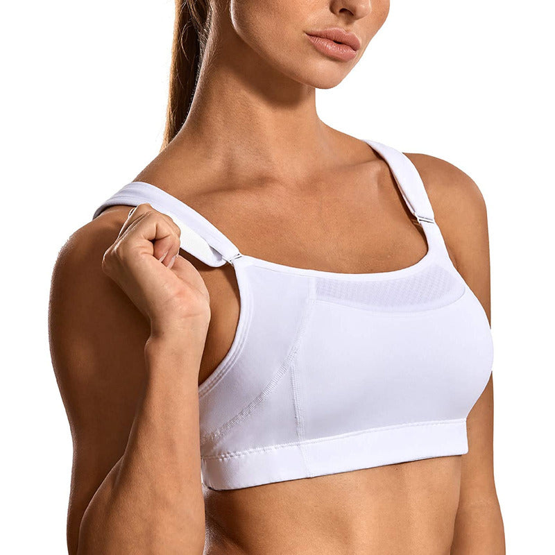 Women Front Adjustable High Impact Sports Bra