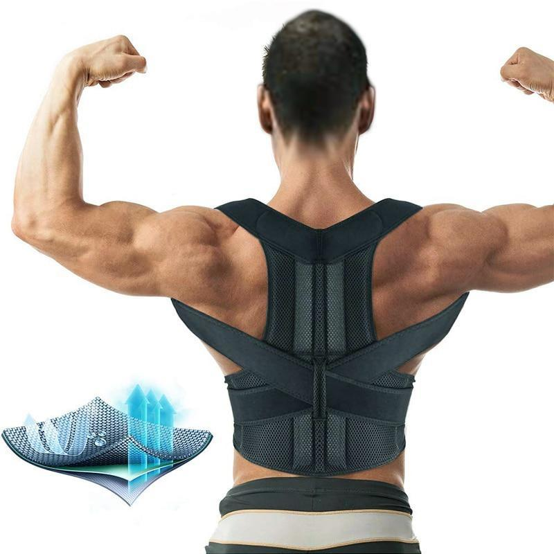 Adjustable Magnetic Therapy Posture Corrector (Premium)