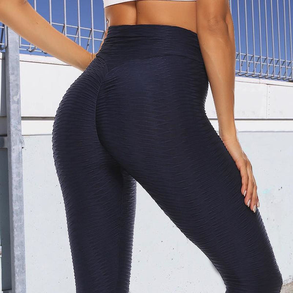 Super High Waisted Scrunch Booty X Anti-Cellulite Tummy Control Push Up Fitness Leggings