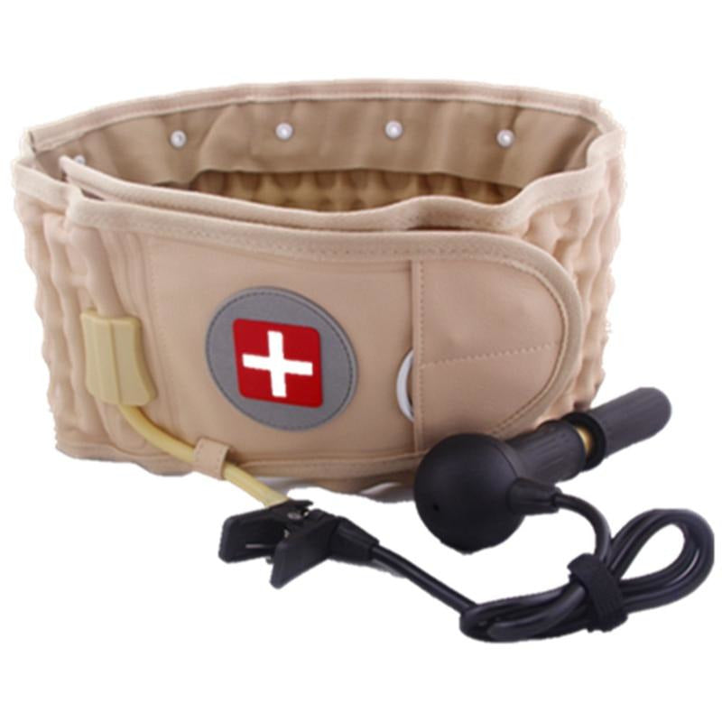 Lumbar Decompression Belt - Highly Recommended By Doctors (Brown)