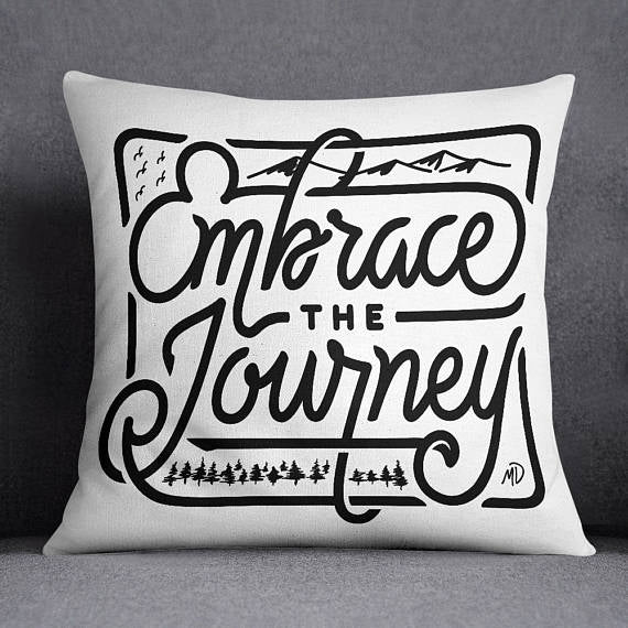 Journey Throw Pillow Cover Pillow Sham Cushion