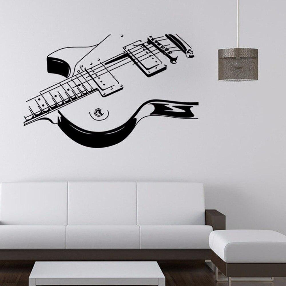 Removable Guitar Wall Sticker