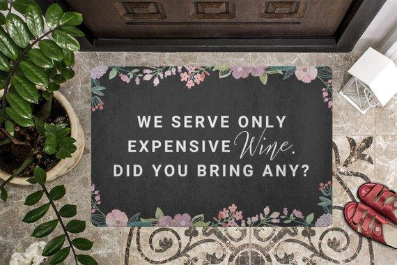 Door mat Doormat Welcome Mat Housewarming Gift We