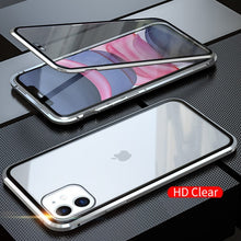 Load image into Gallery viewer, Magnetic Metallic Bumper iPhone Case