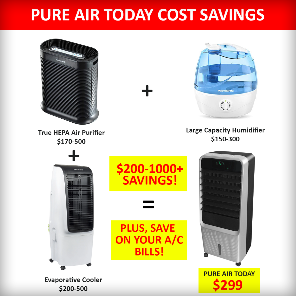 Cost savings with Pure Air Today
