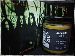 """Cinnamon Girl"" candle"