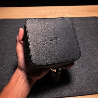Tech Case Mini Leather / Porta Cables Cuero Mini