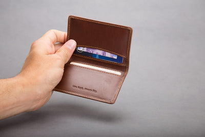 Double card holder