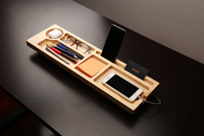 Organizer Wood Table