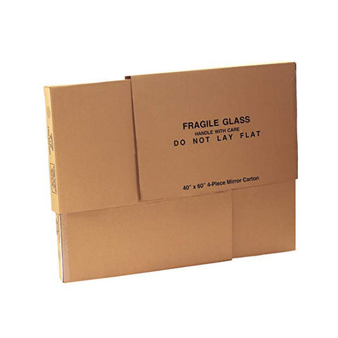 X-Large Mirror Carton - 4 Piece