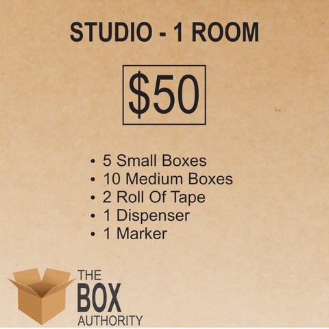 Studio - 1 Room Moving Kit