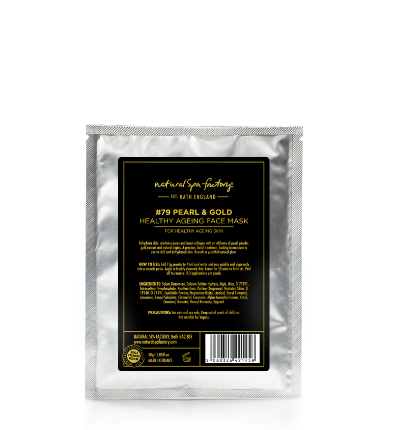#79 PEARL & GOLD FACE MASK FOR HEALTHY AGEING (30G)