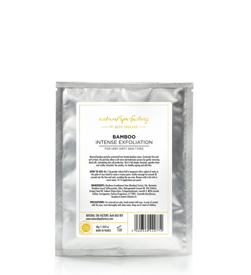 Bamboo Intense Exfoliation - For Deep Exfoliation (30g)