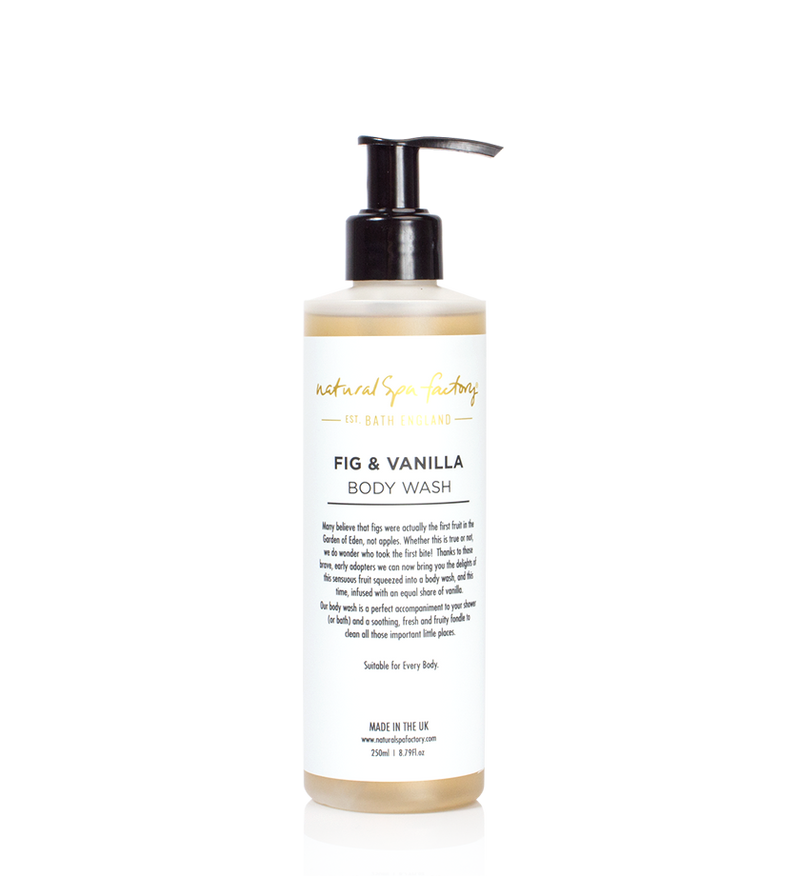 FIG & VANILLA BODY WASH - SUITABLE FOR EVERY BODY (250ML) - VEGAN FRIENDLY