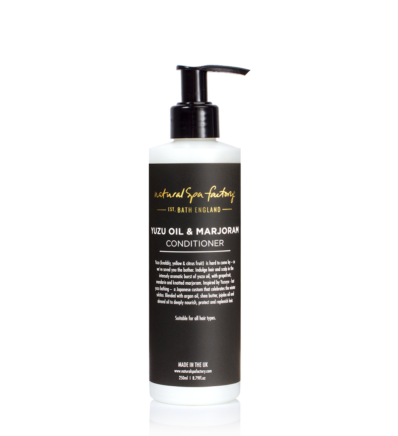 Yuzu Oil & Marjoram Conditioner (250ml) - Vegan Friendly