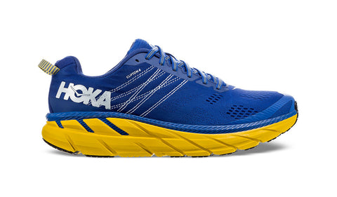 Hoka M Clifton 6 Nebula Blue/Lemon