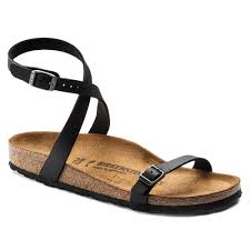 Birkenstock Daloa Black Narrow Fit
