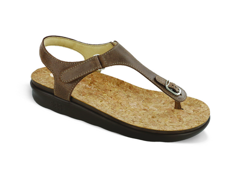 SAS Marina Sandal Brown