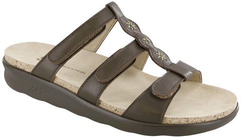 SAS Naples Sandal Coffee