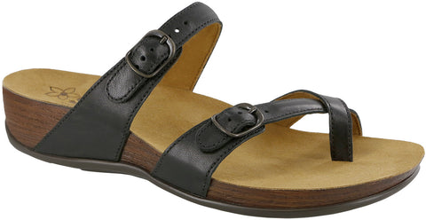 SAS Shelly Black Sandal