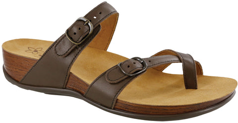 SAS Shelly Coffee Sandal