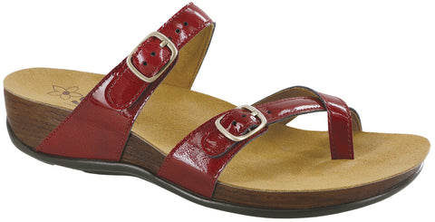 SAS Shelly Lipstick (Red) Sandal