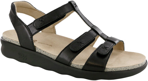 SAS Sorrento Sandal Black