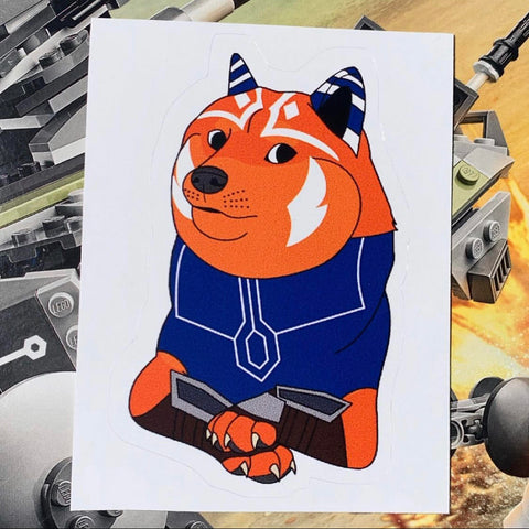 Dogesoka Sticker