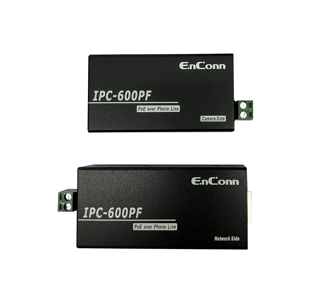 EnConn IPC-600PF PoE over two wires