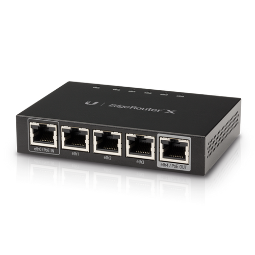 Ubiquiti Networks ER-X EdgeRouter X 5-Port Gigabit PoE