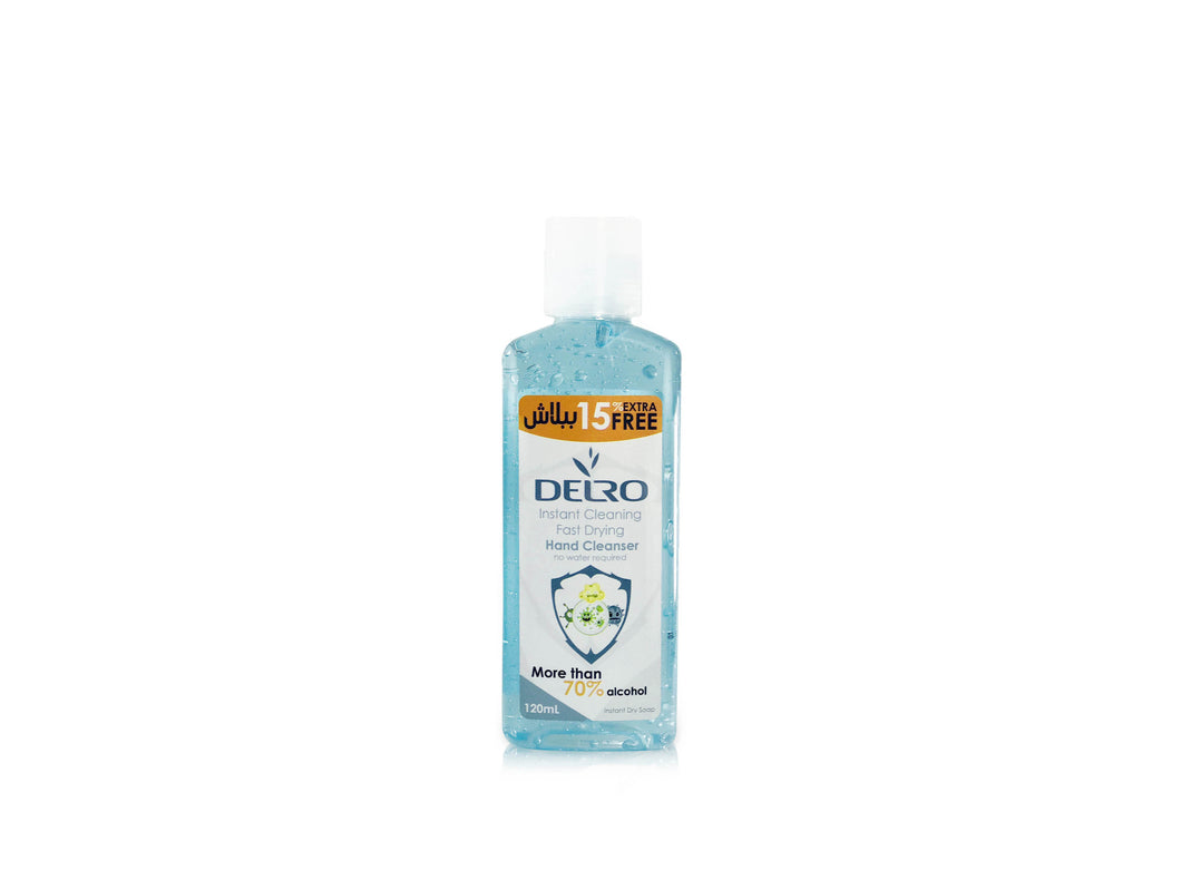 Hand Cleanser 120ml - Delro Store