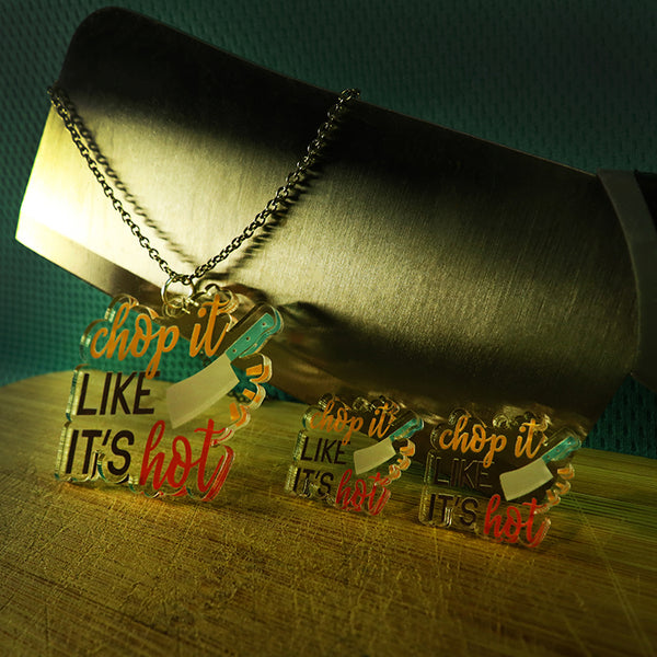 Chop it like it's Hot - Pendant/Earrings