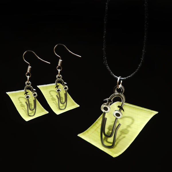 Clippy - Pendant/Earrings