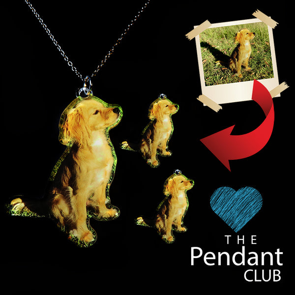 Precious Pets - CUSTOM Pendant/Earrings